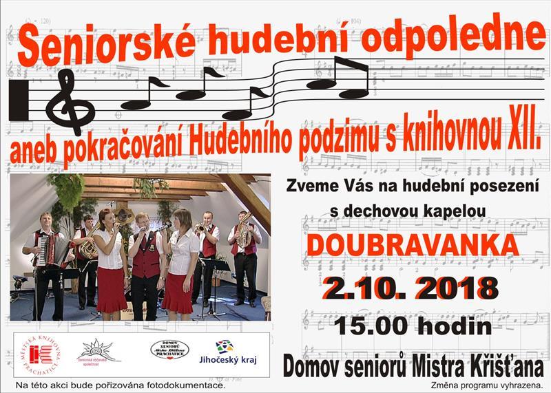 Image Posezení s dechovou kapelou Doubravanka