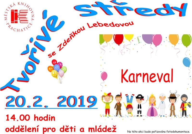 d6cd2307e Tvořivé středy se Zdeňkou Lebedovou: Karnevalová maska: Prachatice